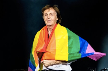 Watch Paul McCartney Show Solidarity With LGBT Community Following