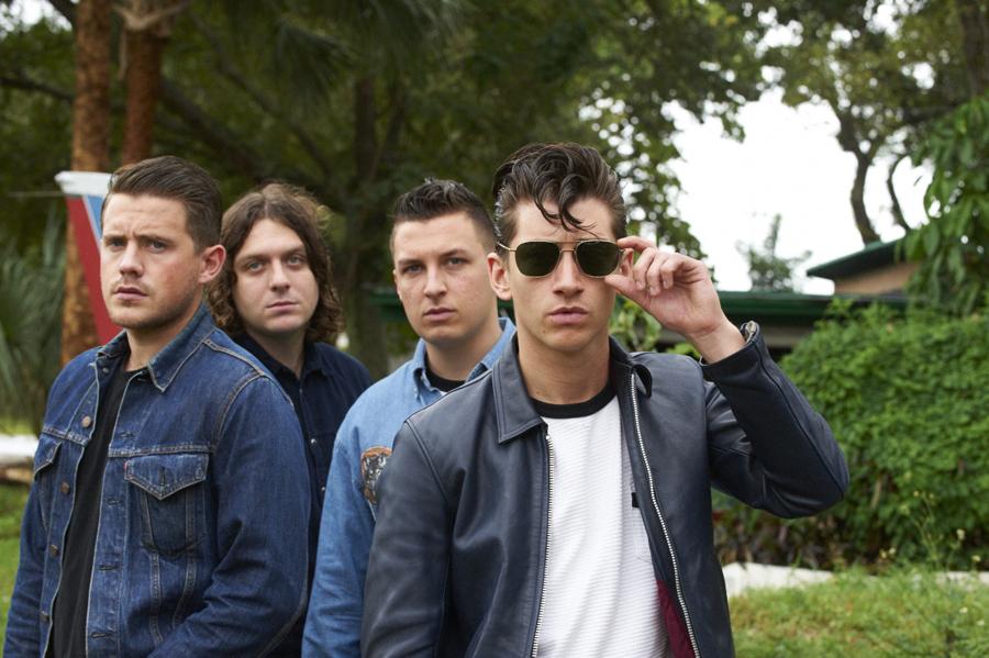 Arctic Monkeys, Alex Turner, Jamie Cook, Nick O'Malley, Matt Helders, posed  NME 05/11/2011