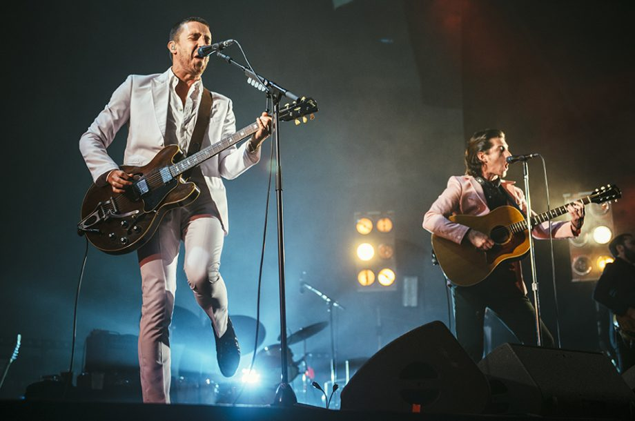 Watch The Last Shadow Puppets' hilarious improvised song about Arcade Fire