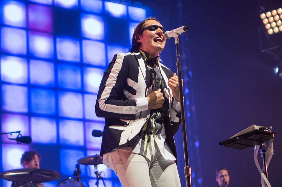 Watch as Arcade Fire play first show for two years