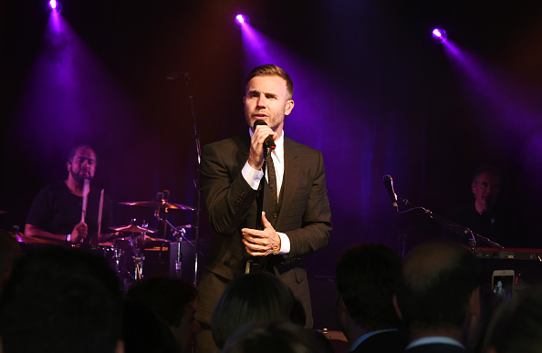 LONDON, ENGLAND - JUNE 27:  Gary Barlow performs at the Summer Gala for The Old Vic at The Brewery on June 27, 2016 in London, England.  (Photo by David M. Benett/Dave Benett/Getty Images)