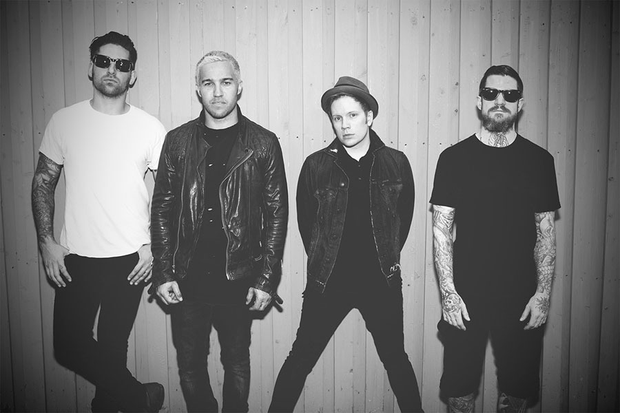 Fall Out Boy frontman Patrick Stump caught listening to own song on plane journey