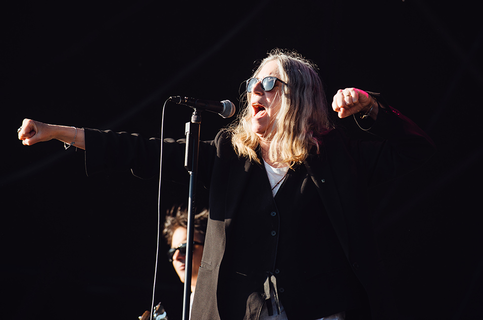 Image result for libertines patti smith london show