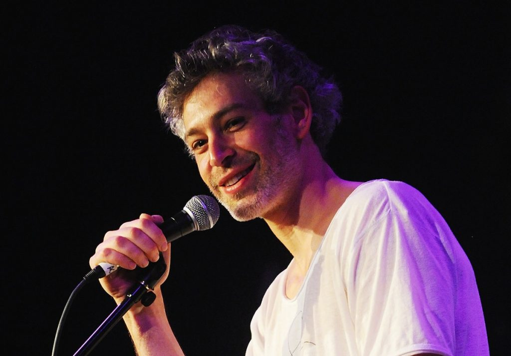 NEW YORK, NY - MARCH 04:  Matisyahu performs at City Winery on March 4, 2015 in New York City.  (Photo by Bobby Bank/WireImage)