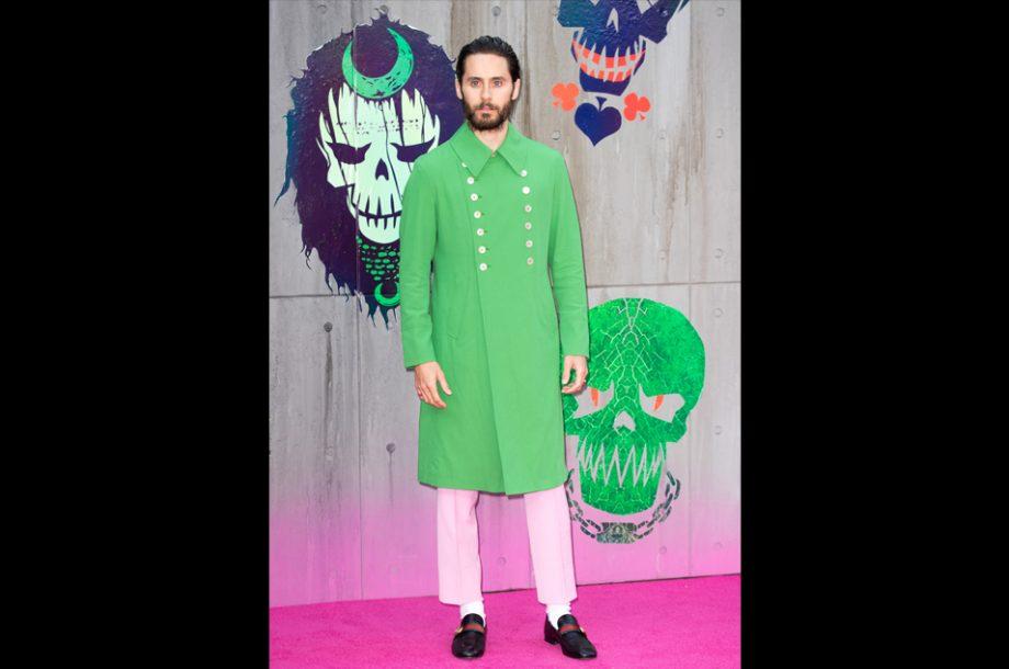 Jared leto green coat reddit