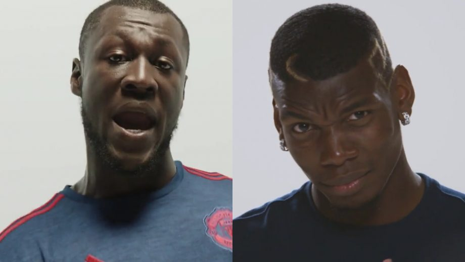 Watch Stormzy And Paul Pogba Rap And Dance To Mark Man Utd