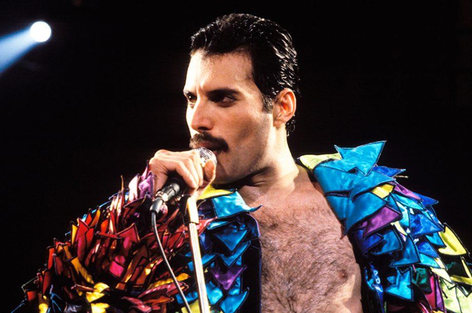 Queen's Freddie Mercury in 1982.