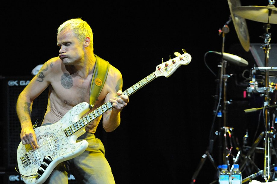 Flea had to relearn bass for new Red Hot Chili Peppers album following snowboarding injury