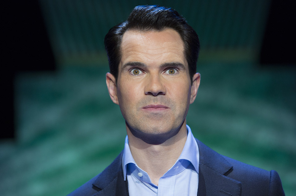 Watch Jimmy Carr Shock A Us Audience With A 9 11 Joke On