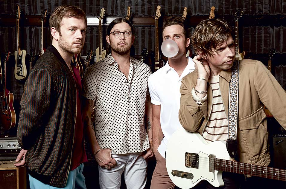 Kings Of Leon Say Their Mother Wants Them To Be More Like