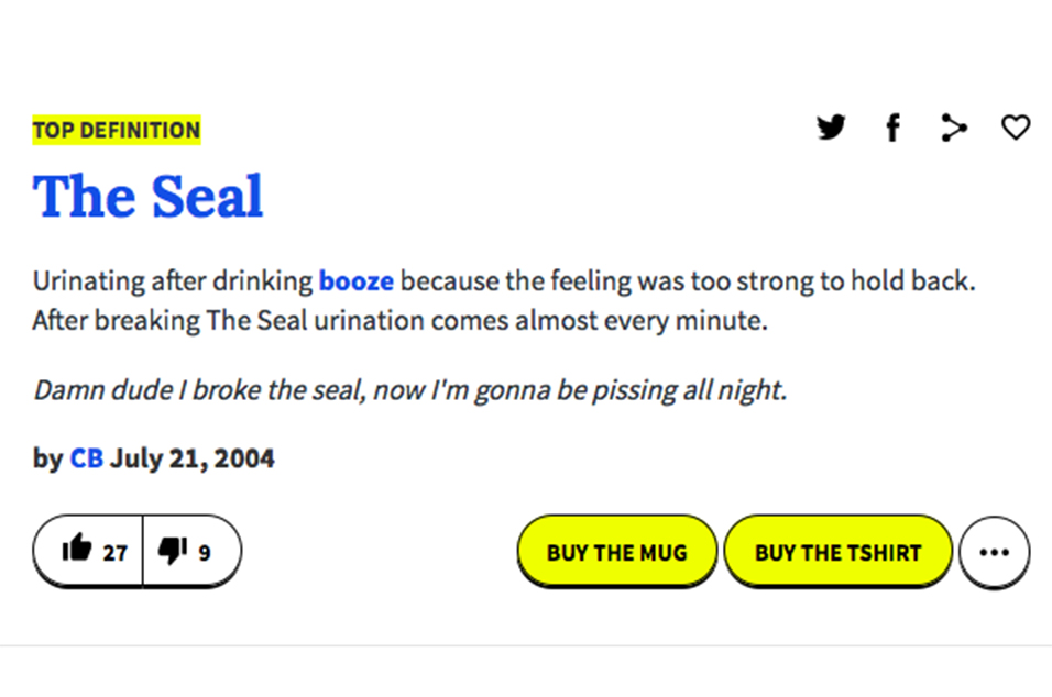 Urban dictionary hook up