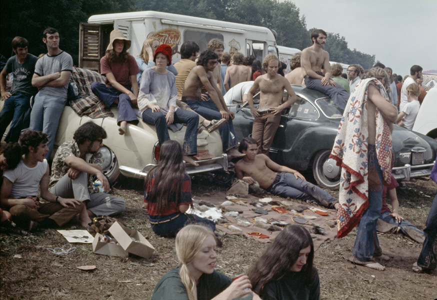 Naked photos from woodstock