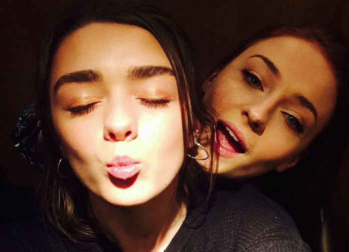 Maisie Williams And Sophie Turner Reveal Game Of Thrones