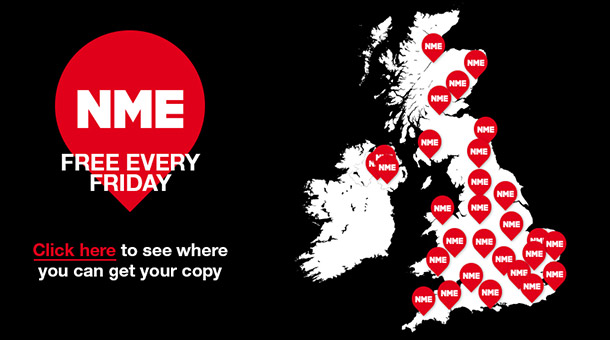 NME Distribution Map