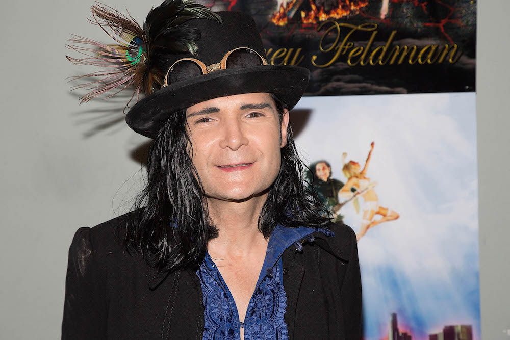 """LOS ANGELES, CA - JUNE 29:  Corey Feldman attends his Album Release Party For """"Angelic 2 The Core"""" at Adults Only on June 29, 2016 in Los Angeles, California.  (Photo by Gabriel Olsen/Getty Images)"""