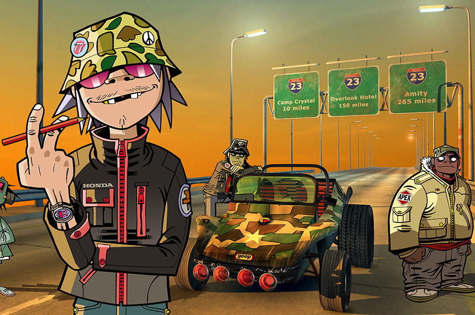 Gorillaz Tease New Album With The Book Of Noodle