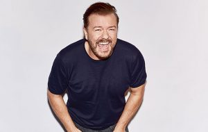 Ricky Gervais extends 2017 stand-up tour Cover