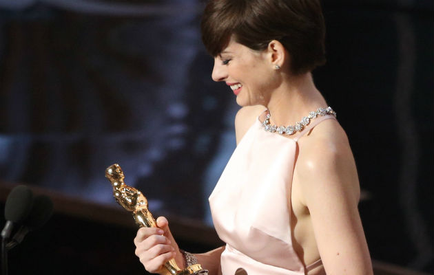 Anne Hathaway explains her Oscar speech: 'I got ca