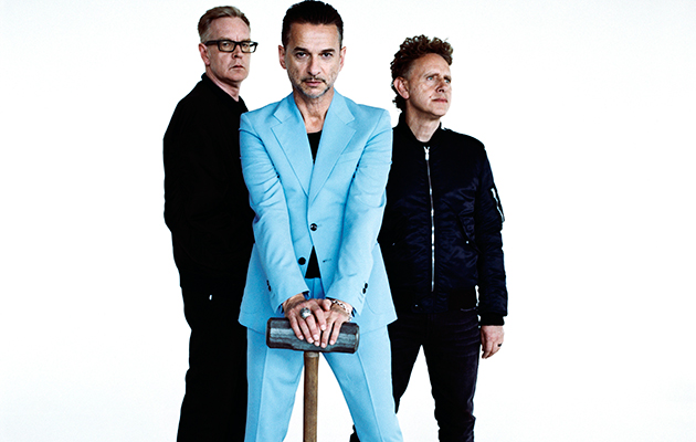 It's a good time to be in Depeche Mode. As well as being nominated for the Rock'n'Roll Hall Of Fame, the synth-pop trio have confirmed the release of their new album 'Spirit' for next spring. It was produced by Simian Mobile Disco's James Ford so the results should be interesting.