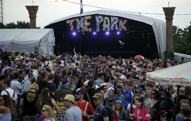 Glastonbury's Park Stage