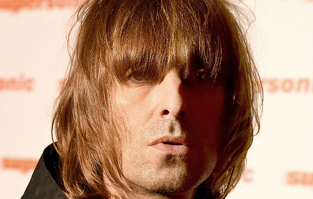Liam Gallagher has been in the studio working on his solo album