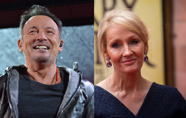 Bruce Springsteen wrote a song for a Harry Potter film