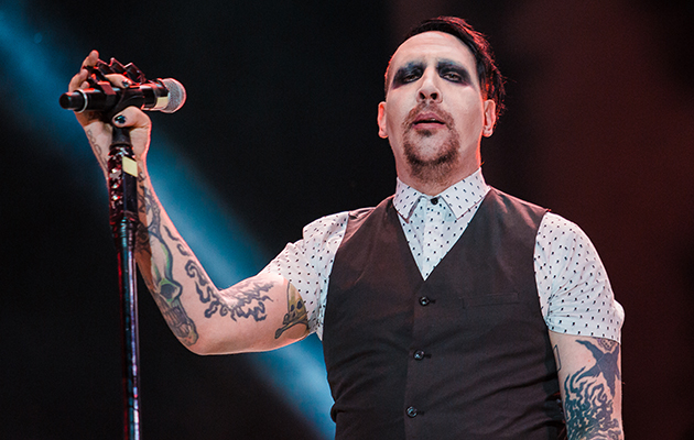 """Marilyn Manson's new album is being released on Valentine's Day, because there's nothing more romantic than the self-proclaimed God Of Fuck. According to the man himself, you'll be able to treat your loved one to a record that is """"a combination of 'Antichrist Superstar' and 'Mechanical Animals' in feeling."""""""