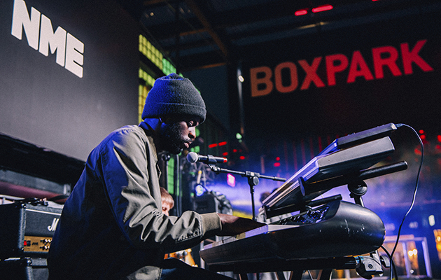 Alfa Mist got into jazz while sampling for hip-hop tunes. He showed off his love for the genre with a noodly and refreshing set on Sunday, with the help of his bandmates Fabio and Kaya.