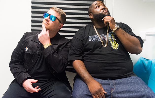 Run The Jewels are prepping 'RTJ3' and, with all that's happening in their native America right now, you can probably expect a lot of polticial ire. The first track from the record, 'Talk To Me', definitely makes their opinions on Trump clear.