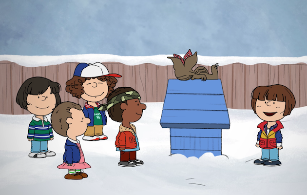 credit press - Peanuts Christmas