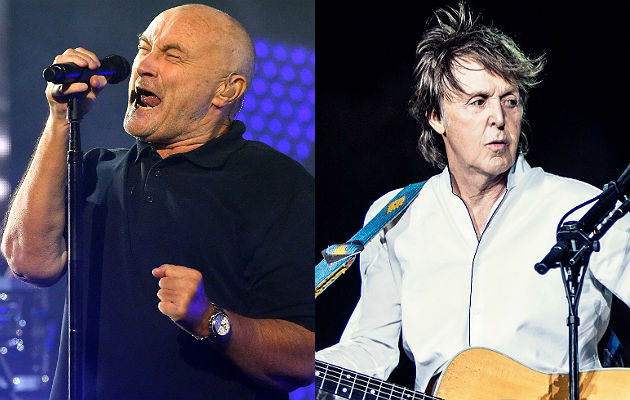 Phil Collins doesn't like Paul McCartney