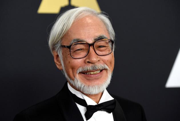 Hayao Miyazaki 2014