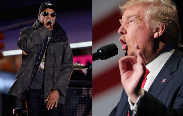 Jay Z Donald Trump