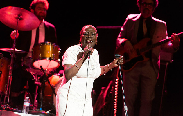 Sharon Jones' bandmate says Jones was ''blaming Trump'' for stroke she suffered on election night