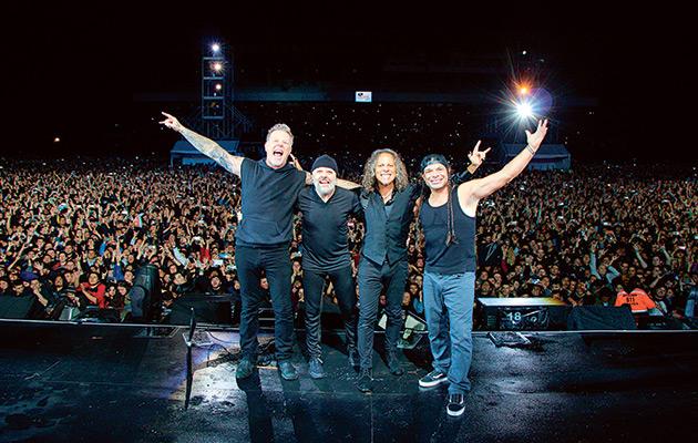 Metallica behind-the-scenes