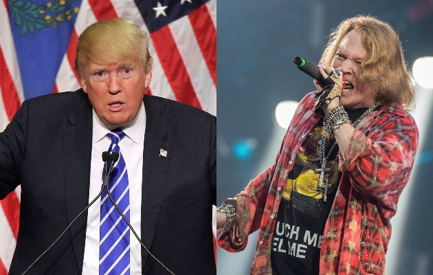 Axl Rose To Donald Trump Do You Ever Stop Whining Nme