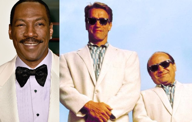 eddie murphy to play arnold schwarzenegger and danny devito s brother in twins sequel film