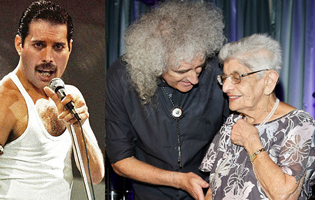 Brian May Pays Tribute After Freddie Mercury S Mother Jer