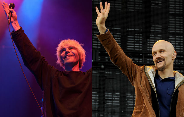 The Charlatans and James
