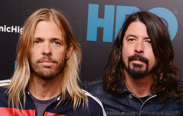 Listen to Dave Grohl and Taylor Hawkins' cover of Rush's '2112 Overture'