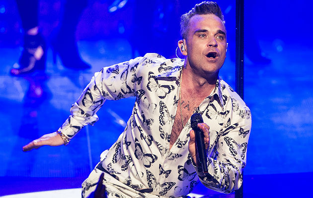 Robbie Williams' new album heading for top of the charts