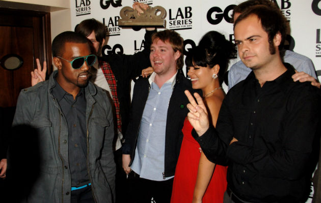 Kaiser Chiefs with Lily Allen and Kanye West