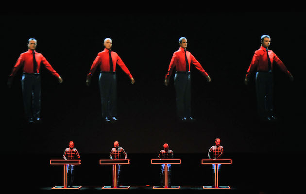 Kraftwerk Perform At Tate Modern