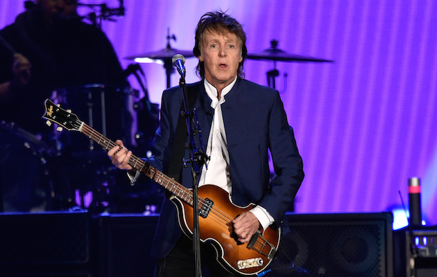 Paul McCartney at Desert Trip