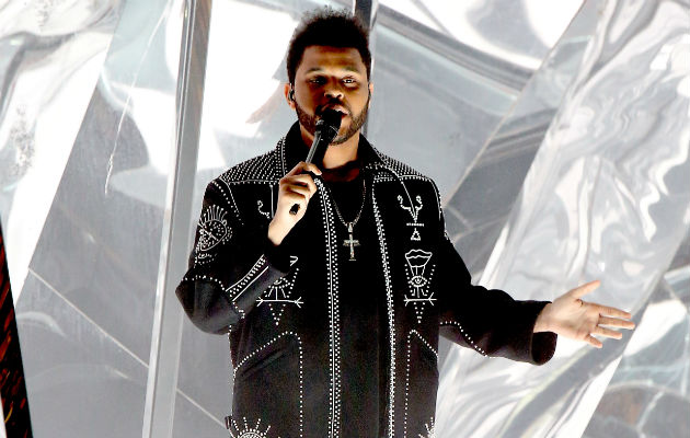 The Weeknd talks recording with