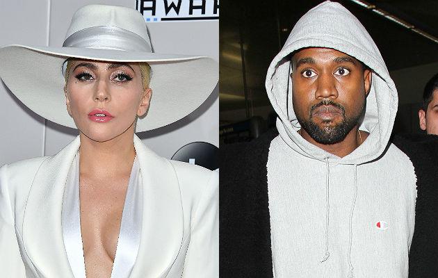 Lady Gaga and Kanye West