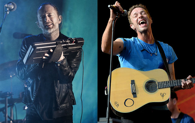 Radiohead and Coldplay