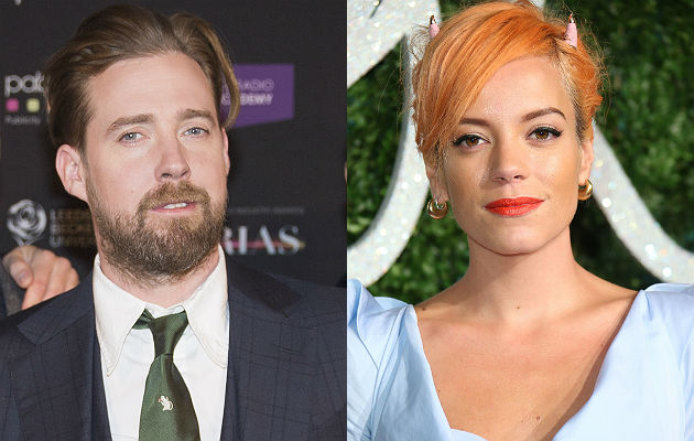 Ricky Wilson and Lily Allen