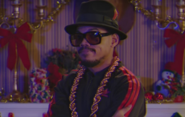 Watch Chance the Rapper perform Run-DMC Christmas parody on 'SNL'