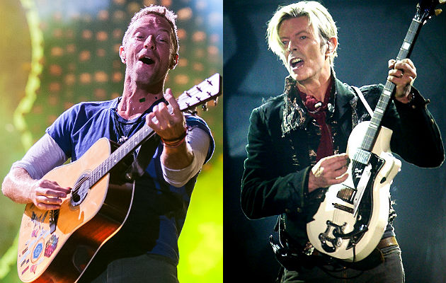 Coldplay and David Bowie